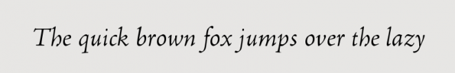 Adobe Jenson Light Italic